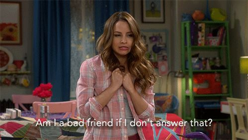 """S4 Ep1 """"Young & Hawaii"""" - Possibly. Totally... Maybe, Sofia? #YoungAndHungry"""