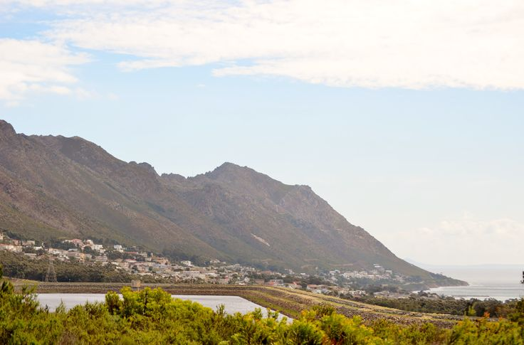 Gordons Bay's town water reservoir where the Steenbrasdam water is being pumped to - Helderberg region - Cape Town