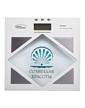 Электронные весы напольные с анализатором жира и воды Gezatone ESG2804А