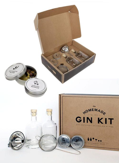 DIY Homemade Gin Kit and Alternate DIY Gin Recipe with No Kit Needed!