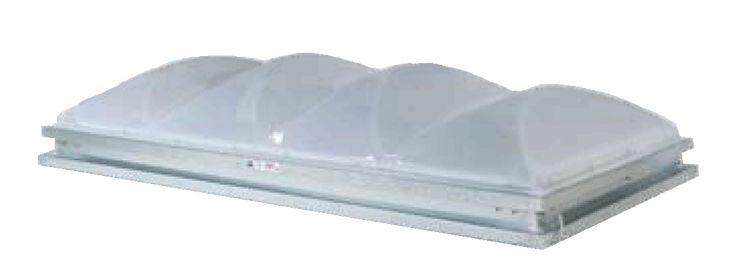 S-SV1D-CM-ST-SA Capless Industrial Skylight