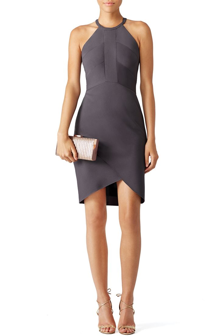 Rent Stone Halter Sheath by Amanda Uprichard for $40 - $55 only at Rent the Runway.