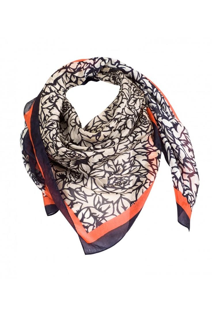 MARINO   Indi & Cold - cotton scarf in - store EB x