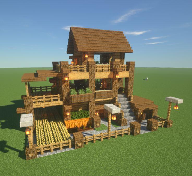 Картинки маленький дом в майнкрафт