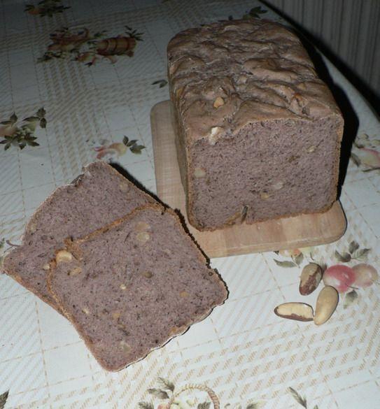 0050. pain aux noix (ořechový chléb) - recept pro domácí pekárnu