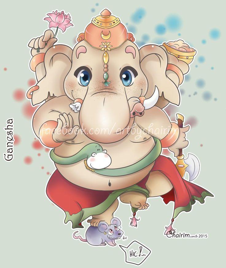 Lord Ganesh Chibi by ChairimArrais