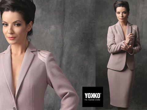 Pink spring | Ellis jacket  YOKKO | spring17   #pink #newcollection #outfit #style #evening #women #fashion #yokko