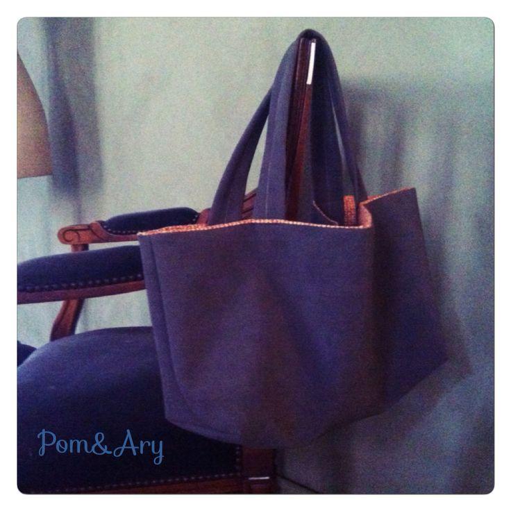 Pom&Ary#DIY#creation#cabas