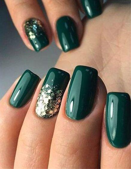 70+ Sensational Winter Nail Colors to Make You Feel Warm #winternail #nailart #naildesign #nails #nailpolish #acrylicnail #glitternail #gelnail #nail