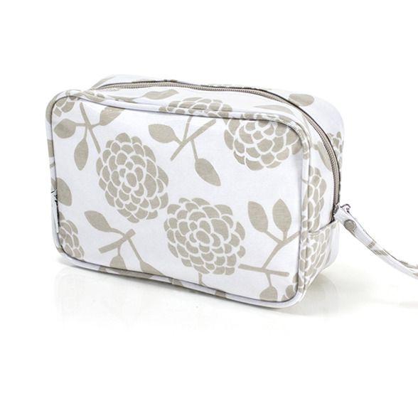 Dandi Cosmetic Bag - Oatmeal  Krinkle - Homewares & Gifts