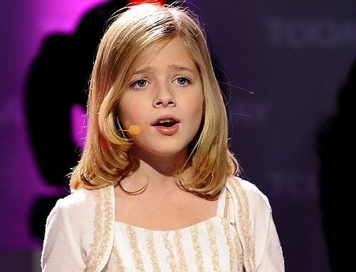 Photo of Jackie Evancho<3 for fans of Jackie Evancho. This right here is what you call a STAR:) http://www.youtube.com/watch?v=c6BGFpnhAXg Countess Dracula