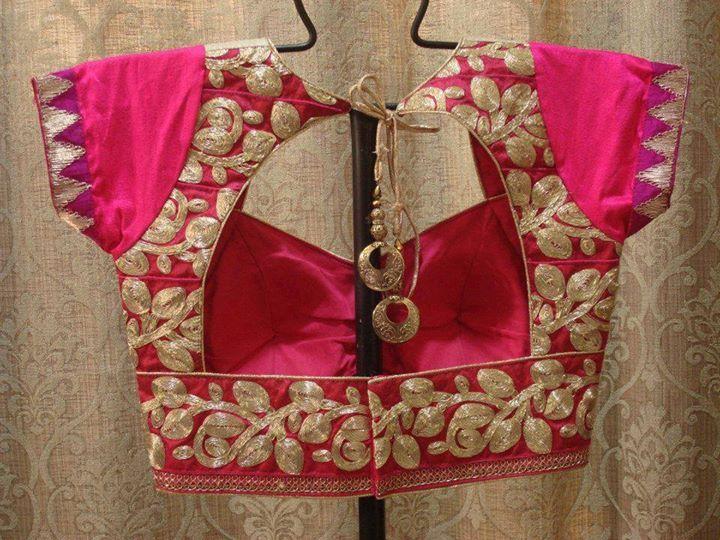 Party Saree Blouse Designs