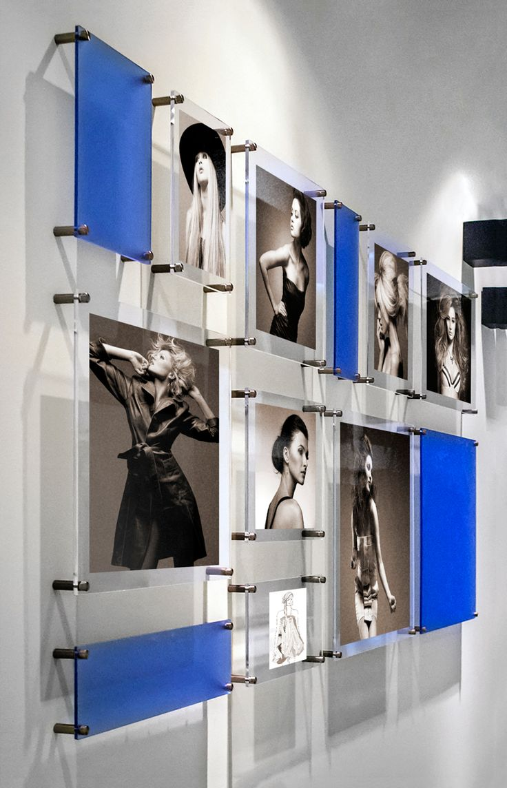 Mondrian inspired wall gallery by Wexel art- steal it on kickstarter