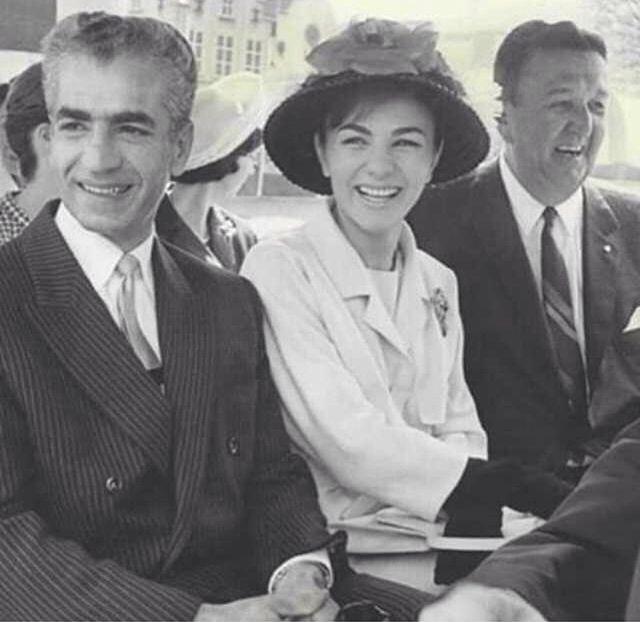 The late, Mohammad Reza Shah Pahlavi & Empress Farah Pahlavi.