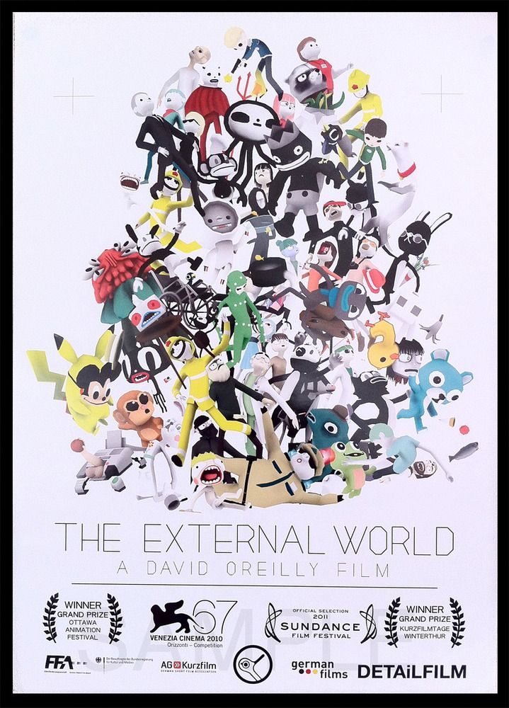 The External World - DAVID OREILLY