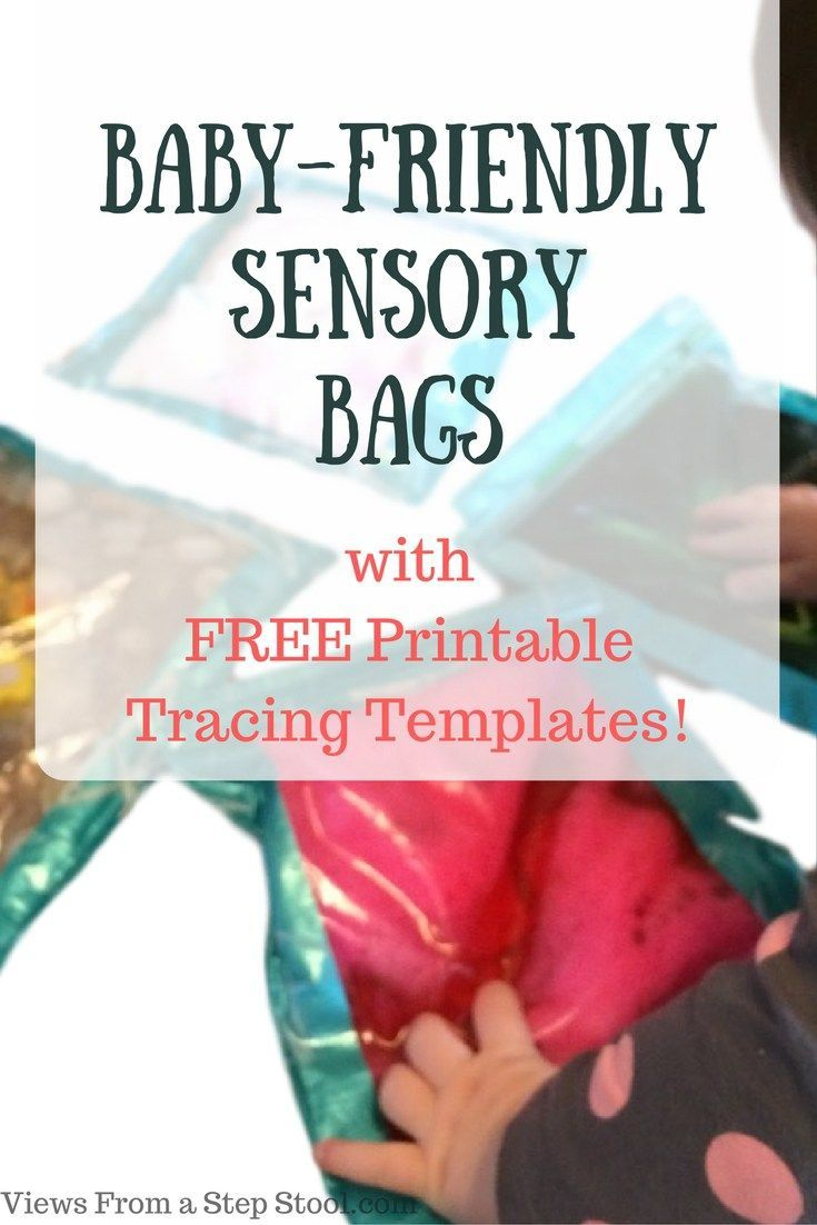 These baby-friendly sensory bags are BABY, TODDLER & PRESCHOOLER approved! Finding sensory activities for a wide range of ages can be difficult but these are a HIT!