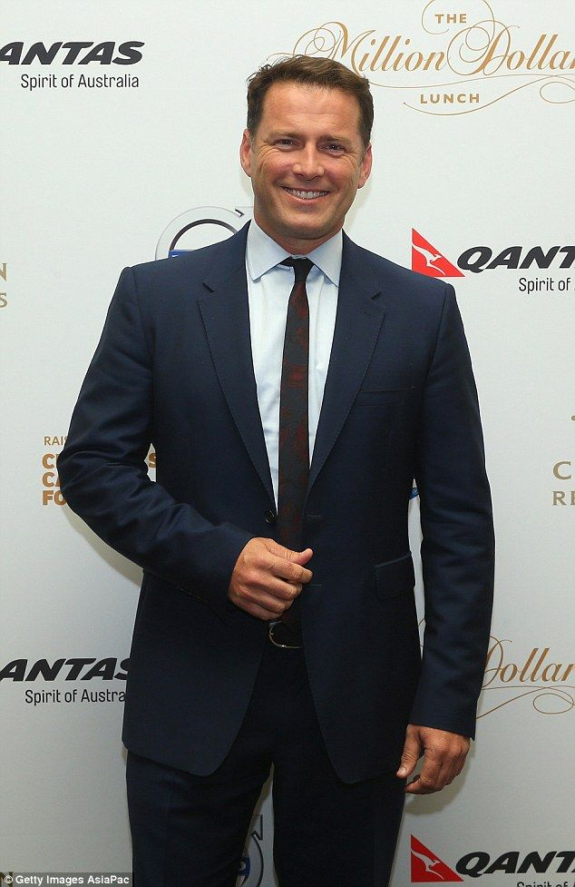 New role: Karl Stefanovic is set to host a new late night news program on the Nine Network with a panel which includes former Labor leader Mark Latham in the pilot expected to be filmed next week