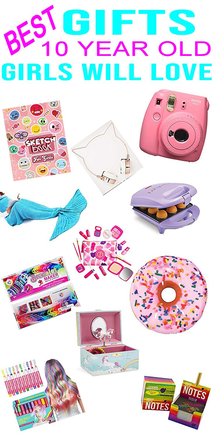 Best Gifts 10 Year Old Girls Will Love Cool And Trendy Gifts For A Girls 10th Birt Christmas Gifts For Girls Christmas Gifts For 10 Year Olds 10 Year Old Girl