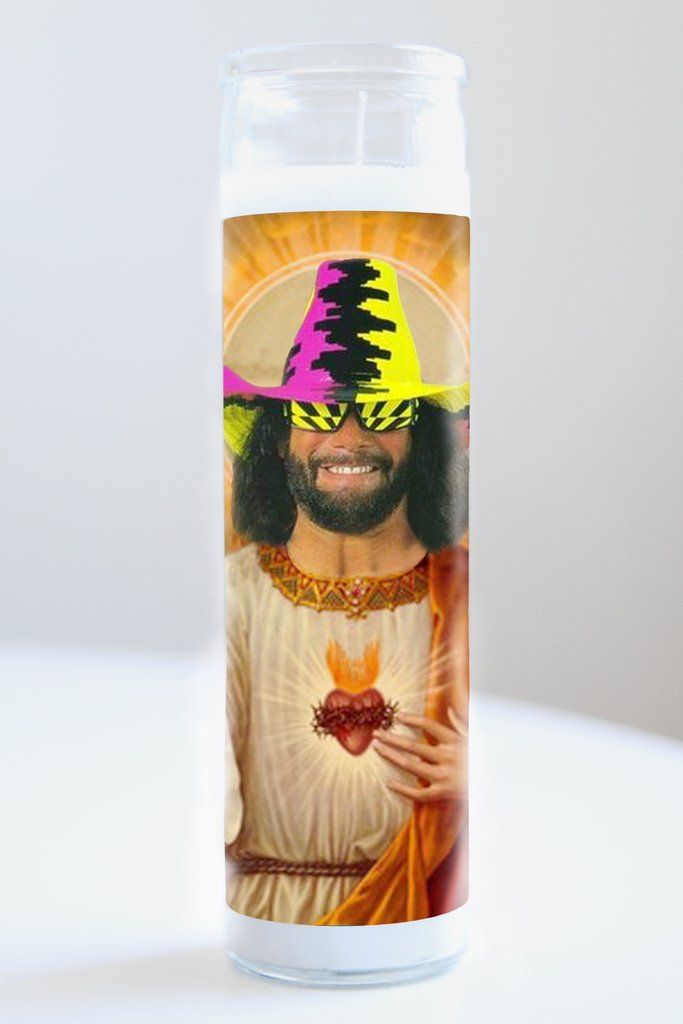 "Saint Macho Man Randy Savage featured on Illuminidol's Texas-made 8"" prayer candle. The most divine way to bless any Macho Man disciple!  Texas Made 8"" in height Unscented Ships anywhere in the US via Priority Mail International Shipping? Please contact info@illuminidol.com Custom + Wholesale options available  #machoman #randy #savage #wrestling #wwe #wrestlemania #ohyeah #hulkhogan #popular #famous #celebrities #pray #candles #art #memes #blessed #lit #fire #lol #austin #texas #local…"