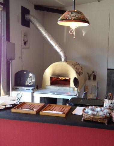 石窯(ピザ窯)キット:シンプルスタイル!作って楽しい!フリーハンドのセラミックレンガ石窯キット