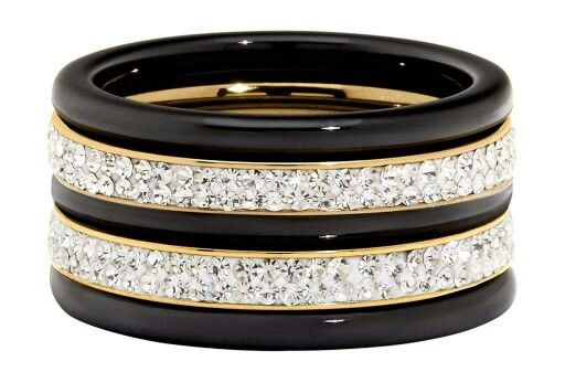 Loving this ring stack from Envy Jewellery
