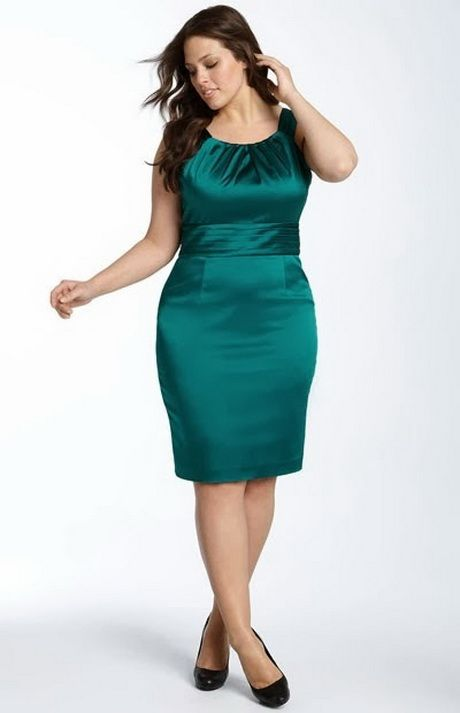 Moda de vestidos para gorditas 2014