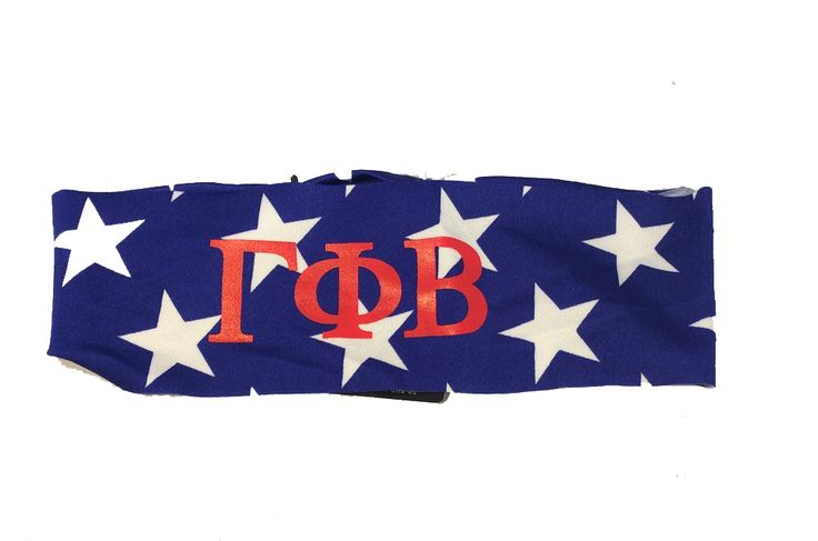 Gamma Phi Beta USA Themed Head Band - Brothers and Sisters' Greek Store