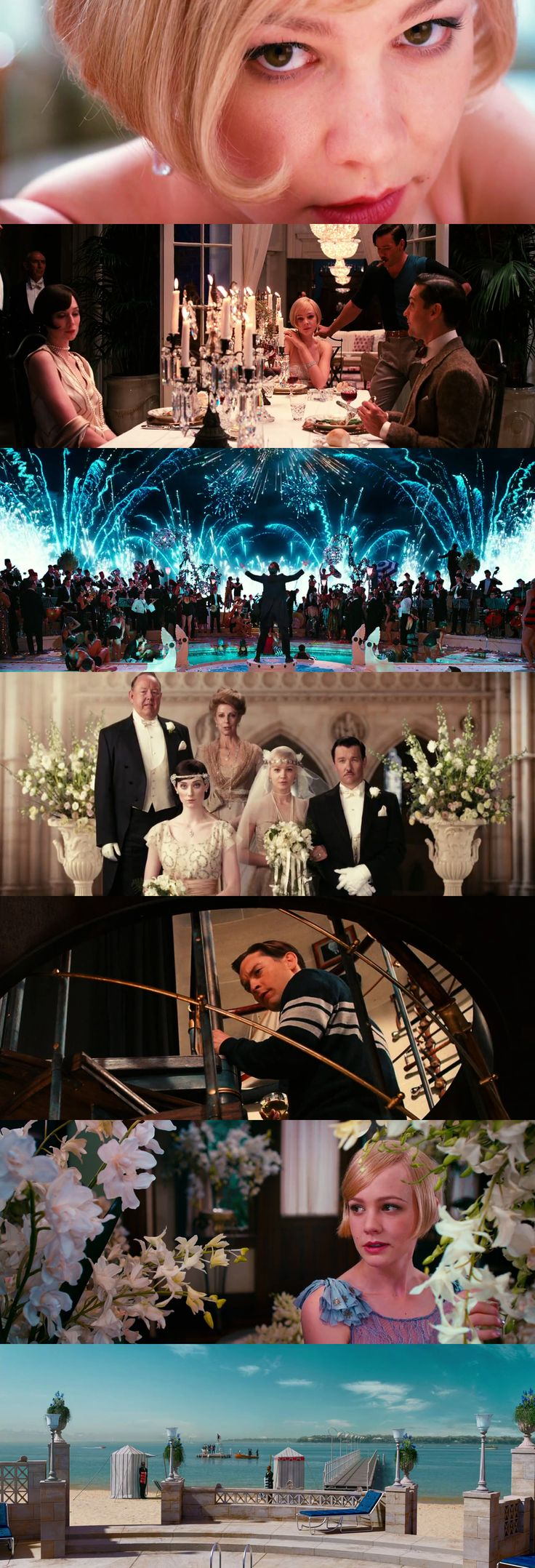 The Great Gatsby, cinematography by Simon Duggan | 2013