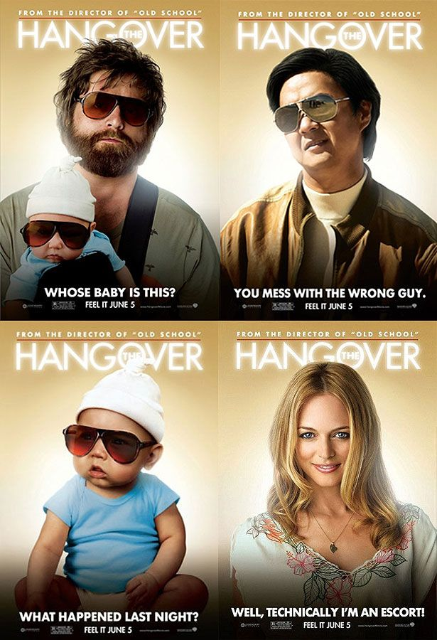 Hangover Movie Posters