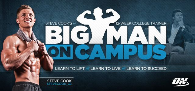 Bodybuilding.com - Steve Cook's Big Man On Campus 12-Week College Trainer..one of the best I've found and I've been looking for awhile! !Worth trying !