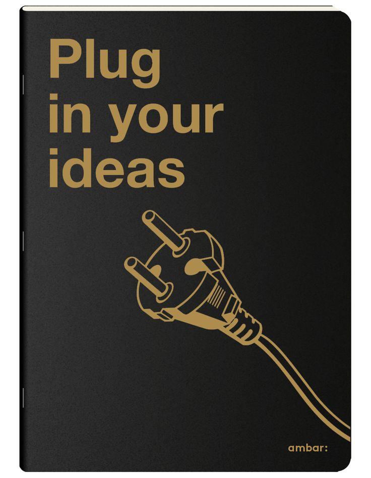 Nova coleção de cadernos - os clever notebooks ambar: