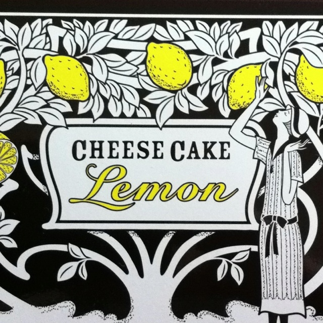 Cheese Cake Lemon Of Shiseido Parlour,Ginza,Tokyo