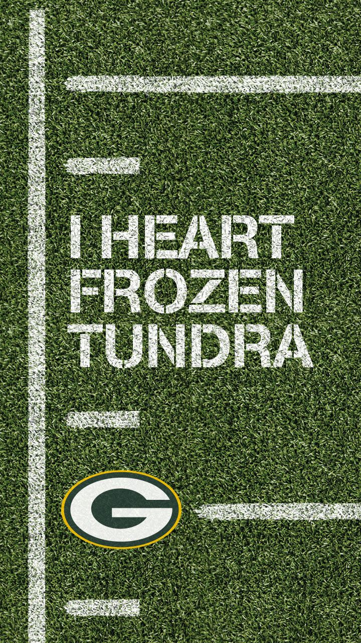 Surviving the frozen tundra takes passion and dedication. Stay connected to the Green Bay Packers all year with NFL Mobile and a smartphone wallpaper from Verizon.