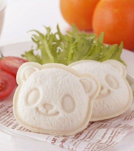 Achetez votre kit Un kit pour vous préparer d'adorables sandwichs Panda sur lavantgardiste.