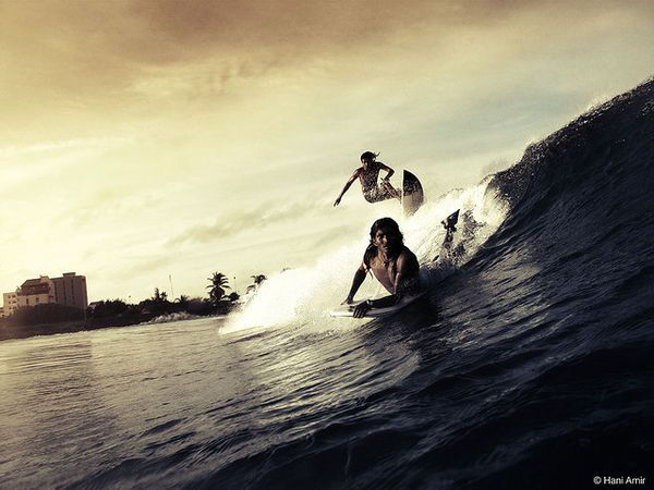 surfing and Japanese aesthetics