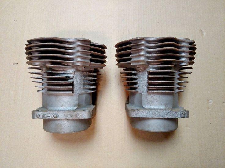 """#harley Harley Davidson OEM 61"""" Knucklehead Cylinders please retweet"""