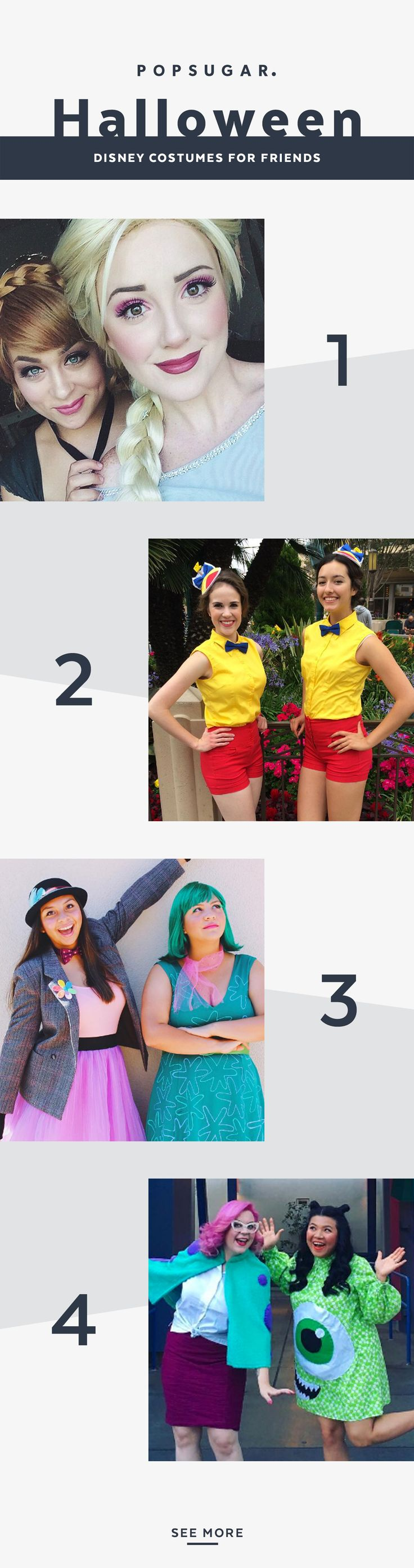 The best Disney costumes for the best of friends