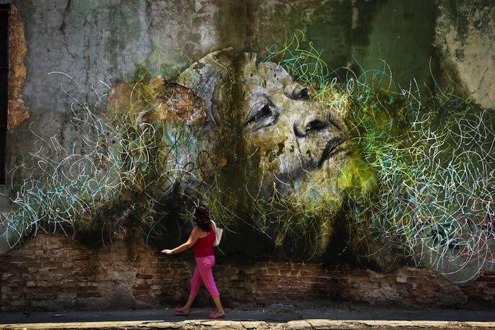 Enormous Street Art Portraits in Cuba - My Modern Metropolis - amazing