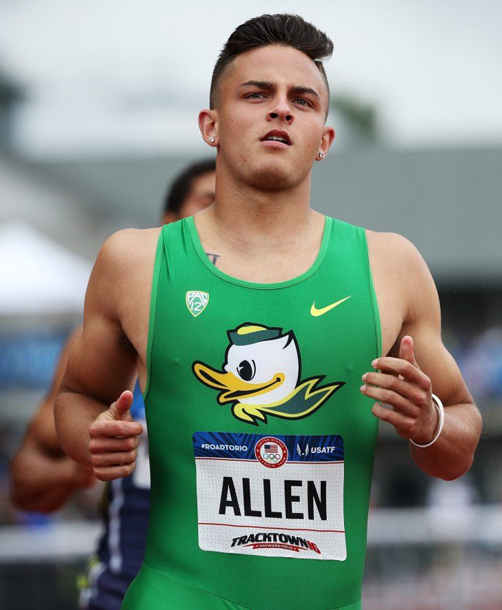 Pin for Later: And Now, a Hefty Dose of Hot Olympic Athletes Devon Allen  Country: USA Sport: Track and field Age: 21
