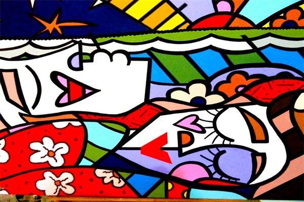 РБ Живопись Доброе Утро Обои Пользовательские Холст Плакаты Ромеро Бритто Наклейки Мультфильм Стикер Стены Дети Home Decor # PN #937 #