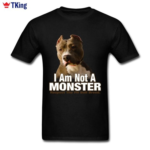 Special price 2017 New Hipster Respect Pit Bull Terrier Men's T-shirt Boyfriend Cotton XXXL Short Sleeve Not A Monster Dog Shirts For Boys just only $12.10 with free shipping worldwide  #tshirtsformen Plese click on picture to see our special price for you
