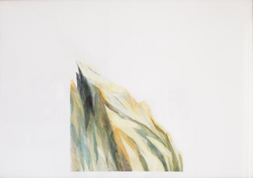 another fragment of mountain...  painting