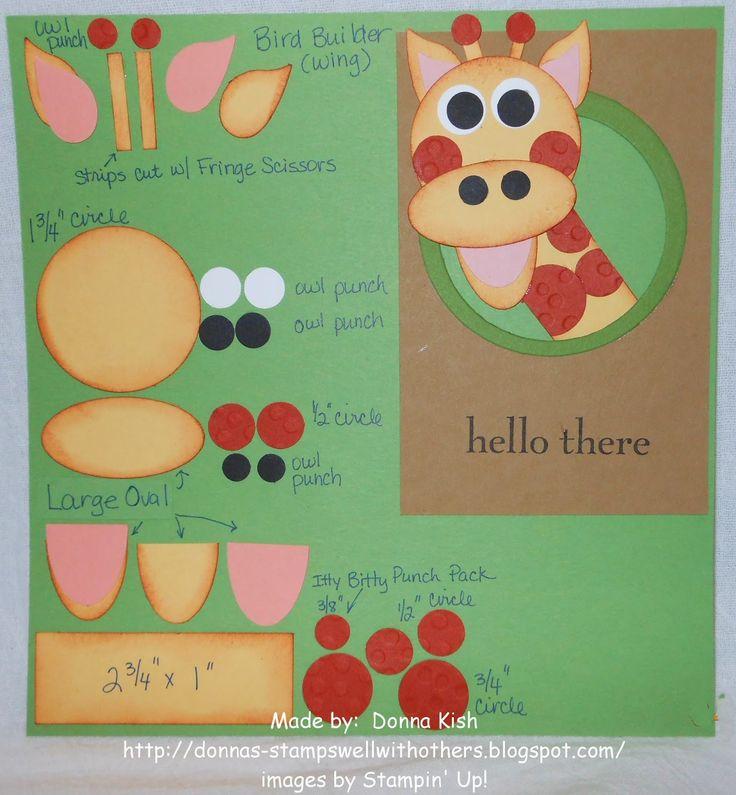 Giraffe #1 - Recipe Card