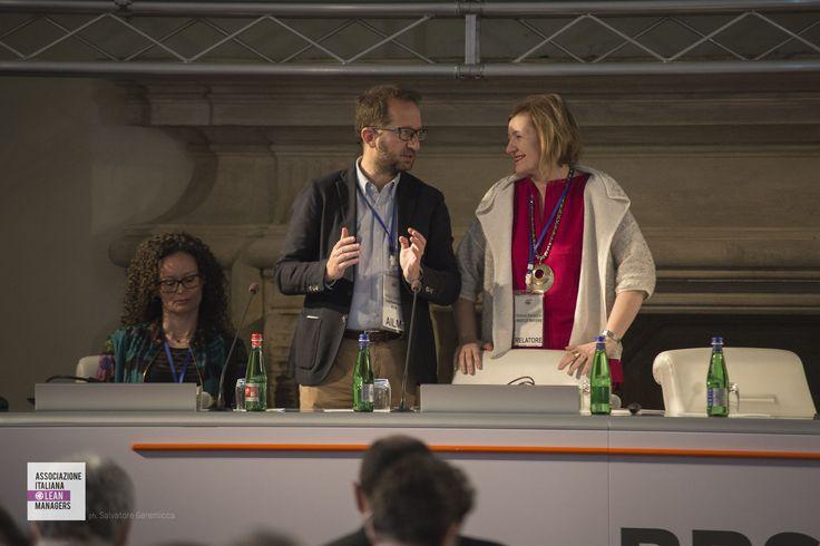 SaraMorganti - Nexans; Paolo Zanella - ThyssenKrupp AST e vice presidente AILM e StefaniaMontagner - Nestlé Waters