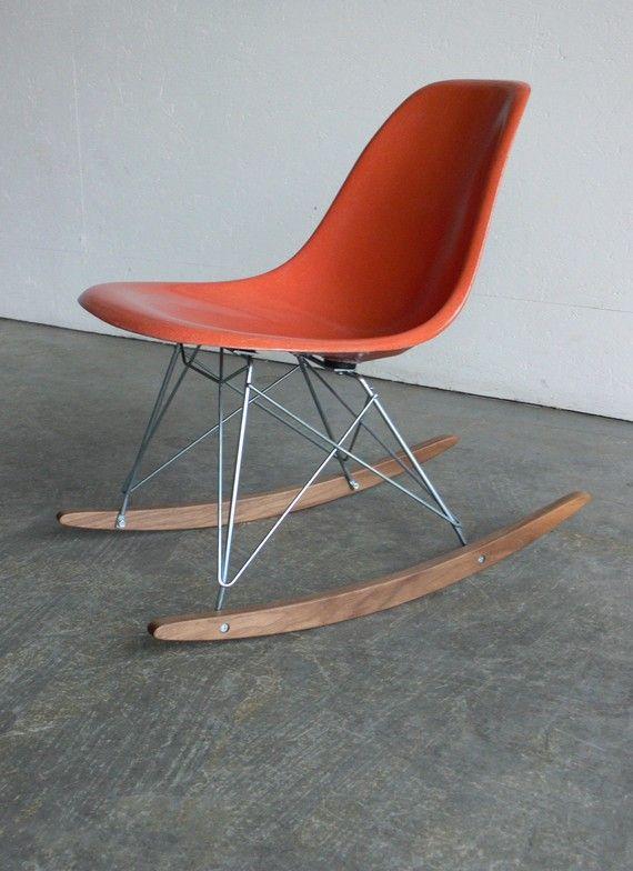 herman miller eames fiberglass side chair rocker the. Black Bedroom Furniture Sets. Home Design Ideas