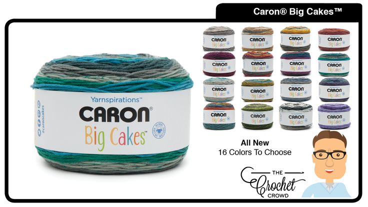 What To Do With Caron Big Cakes Yarn Caron Big Cakes are 100% Acrylic that are sized for big projects