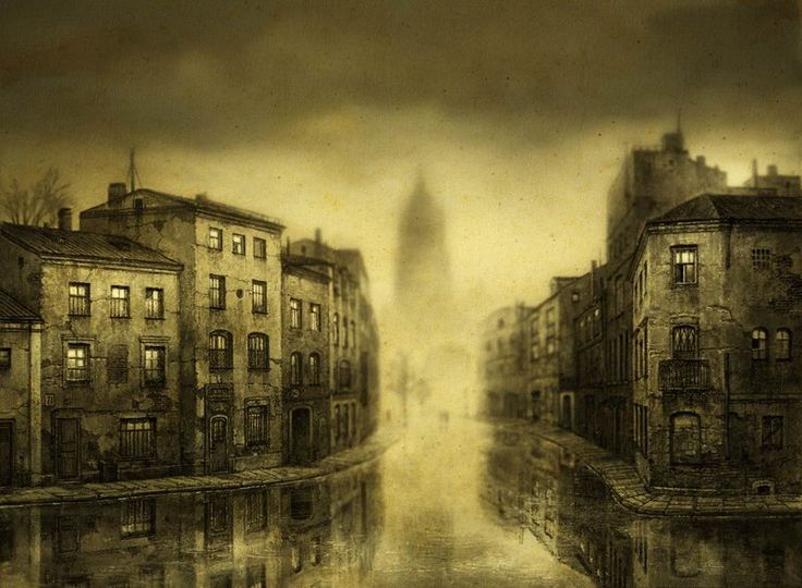 Романтическая старинность фантастических картин Ярослава Гержедовича / Питерский художник Ярослав Гержедович создает красивые, необычные рисунки и фотографии. Их выделяет общая атмосфера чего-то уже ушедшего, темные полу-тона, туманные образы на грани видимости.