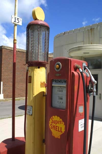 old gas pumps | The Fuel On the Hill 1-5553-Old-Gas-Pump – My Perfect Automobile