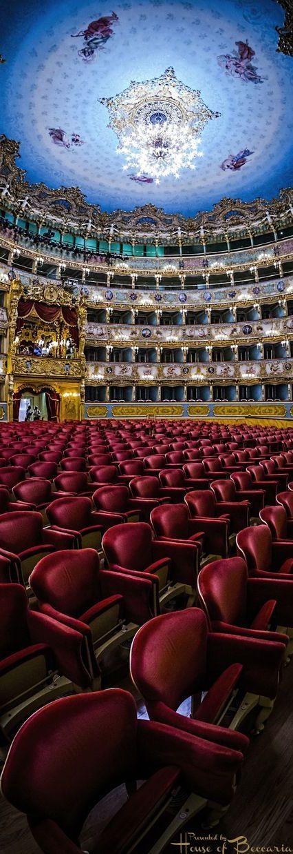 ~La Fenice Theatre, San Marco, Venice, Italy   House of Beccaria#.  Via @houseofbeccaria. #Italy #Venice