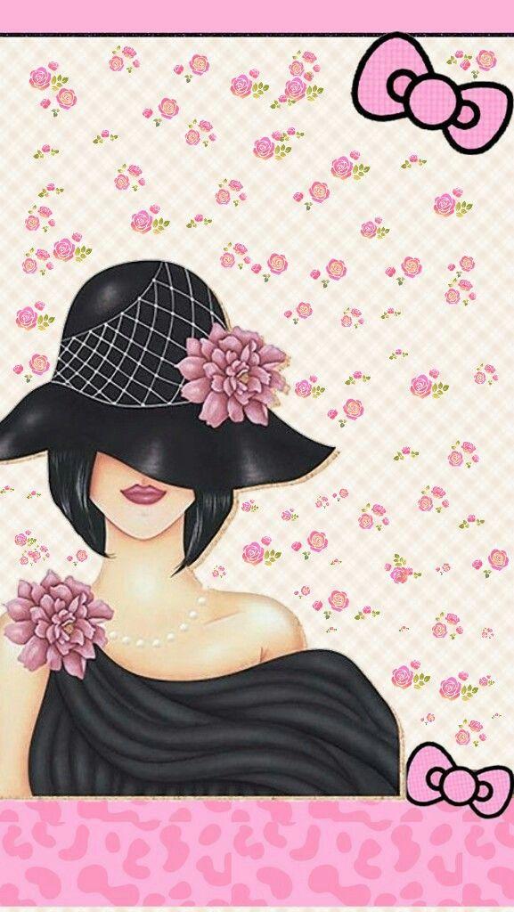 Butterfly Spirit Love Pink Wallpaper Floral Prints Art Cute Wallpapers